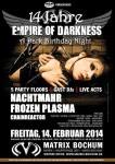 14 jahre empire of darkness