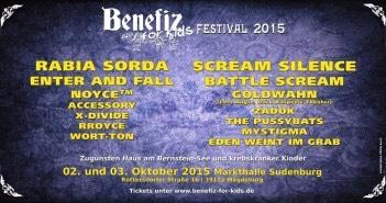 Benefiz for Kids Festival 2015