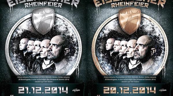 Eisbrecher Rheinfeier