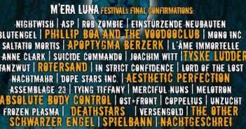 Mera Luna 2015 Line-up