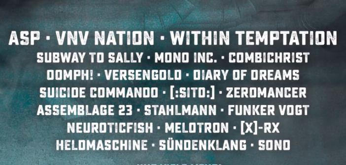 Die ersten Bands für das Mera Luna Festival 2019