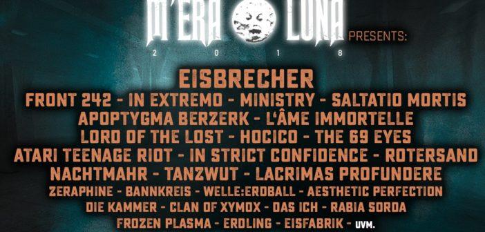 Mera Luna Festival 2018 – Erste Bands