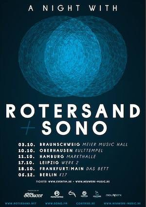 a night with rotersand + sono