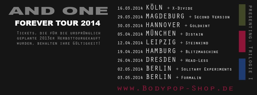 And One Forever Tour 2014