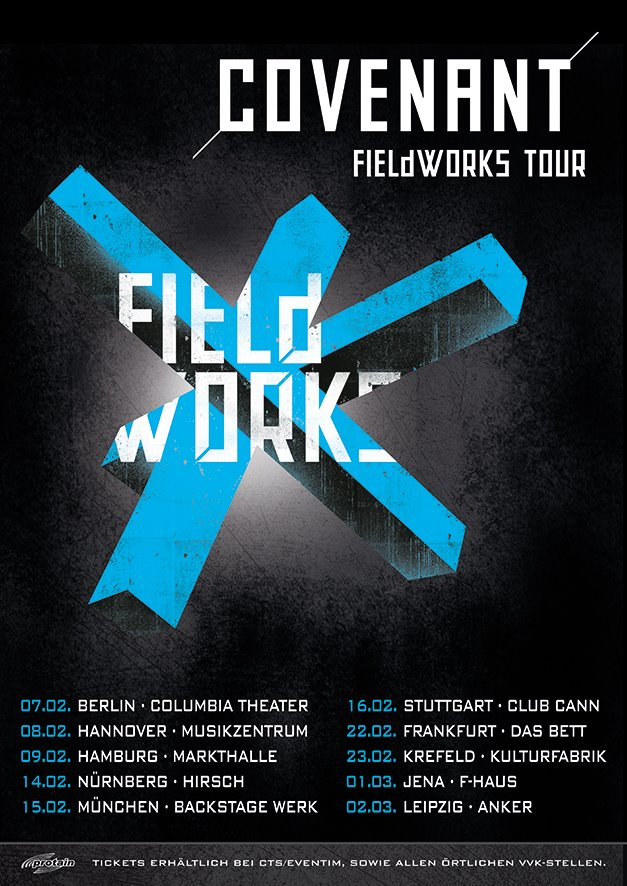 covenant fieldworks tour