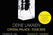 deine lakaien chrystal palace tour 2015