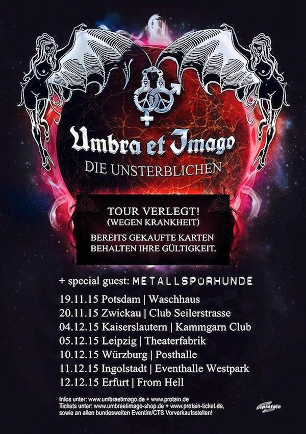 umbra et imago - die unsterblichenn tour